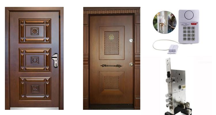 درب ضد سرقت با قفل آژیر دار