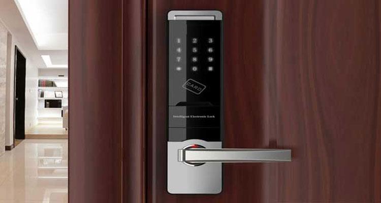 نصب قفل دیجیتال درب ضد سرقت